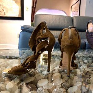 Jimmy Choo Kami Suede Strappy Sandal